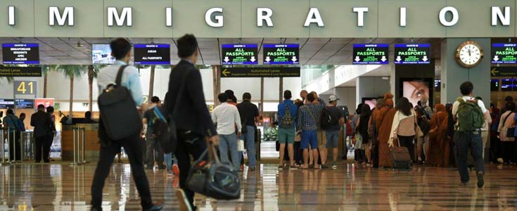 Singapore Immigration Checkpoint