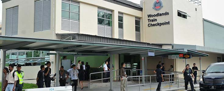 Woodlands Train Checkpoint